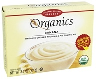 European Gourmet Bakery - Organic Cooked Pudding & Pie Filling Banana - 3.5 oz.
