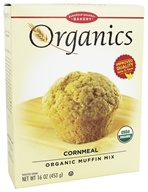 European Gourmet Bakery - Organic Muffin Mix Cornmeal - 16 oz.