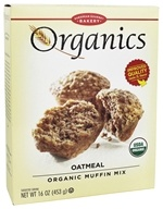 European Gourmet Bakery - Organic Muffin Mix Oatmeal - 16 oz.