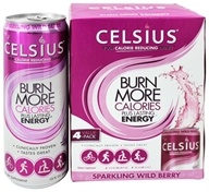 Celsius - Burn More Calories Plus Lasting Energy Wild Berry - 12 oz.