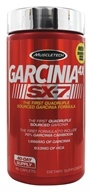 Muscletech Products - Garcinia 4X SX-7 - 80 Caplets