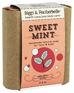 Biggs & Featherbelle - Merry Mint Handmade Natural Soap Sweet Mint - 3.5 oz.