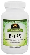 Source Naturals - Vegan True B-125 - 60 Tablets