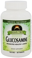 Source Naturals - Vegan True Glucosamine - 60 Tablets