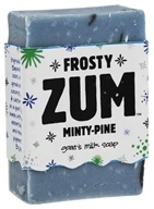 Indigo Wild - Frosty Zum Bar Goat's Milk Soap Mini Bar Minty-Pine - 1.5 oz.