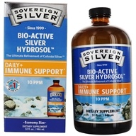 Sovereign Silver - Bio-Active Silver Hydrosol 10 Ppm - 32 oz.