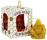 Way Out Wax - Beeswax Buddha Ornament Meditation Timer Candle - 0.5 oz.