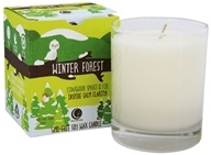 Way Out Wax - Winter Forest GMO-Free Soy Wax Candle Glass Tumbler Cedarwood, Spruce, & Fir - 6 oz.