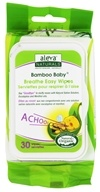 Aleva Naturals - Bamboo Baby Wipes Breathe Easy - 30 Wipe(s)