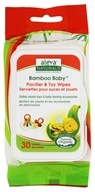 Aleva Naturals - Bamboo Baby Wipes for Pacifier & Toy - 30 Wipe(s)