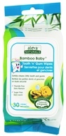 Aleva Naturals - Bamboo Baby Wipes for Tooth & Gum - 30 Wipe(s)