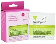 SweetSpot Labs - On-The-Go Wipettes Basil Grapefruit - 7 Wipe(s)