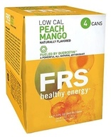 FRS Healthy Energy - Energy + Endurance Drink Low Calorie Peach Mango - 11.5 oz.