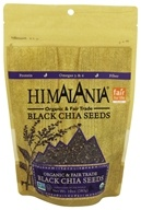 Himalania - Organic & Fair Trade Black Chia Seeds - 10 oz.