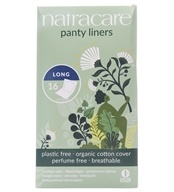 Natracare - Organic Cotton Cover Long Panty Liners - 16 Liner(s)