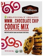 Madhava - Deliciously Organic Cookie Mix Mmm-Chocolate Chip - 13.8 oz.
