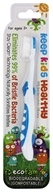 EcoFam - Anti-Microbial Bristles Biodegradable Kids Toothbrush Blue