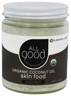 Elemental Herbs - All Good Organic Coconut Oil Skin Food Coconut - 7.5 oz.