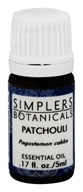 Simplers Botanicals - Essential Oil Patchouli - 5 ml.
