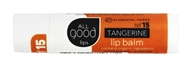 Elemental Herbs - All Good Lips Lip Balm Tangerine 15 SPF - 4.25 Gram(s) Formerly 12 SPF