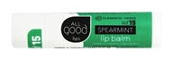 Elemental Herbs - All Good Lips Lip Balm Spearmint 15 SPF - 4.25 Gram(s) Formerly ...