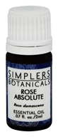 Simplers Botanicals - Essential Oil Rose Absolute - 2 ml.