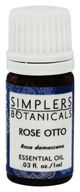 Simplers Botanicals - Essential Oil Rose Otto - 1 ml.