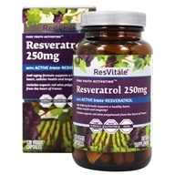 ResVitale - Resveratrol Pure Youth Activating 250 mg. - 120 Vegetarian Capsules