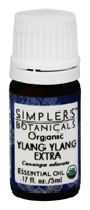 Simplers Botanicals - Organic Essential Oil Ylang Ylang Extra - 5 ml.