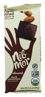 NibMor - Dark Chocolate with Almonds - 2.2 oz.