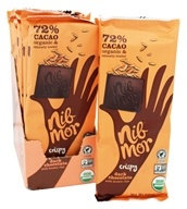 NibMor - Dark Chocolate with Brown Rice Crispy - 2 oz.