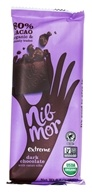 NibMor - Organic Dark Chocolate Bar Extreme with Cacao Nibs - 2.2 oz.