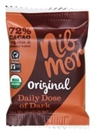NibMor - Organic Daily Dose of Dark Chocolate Bar Original - 0.35 oz.