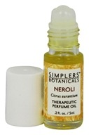 Simplers Botanicals - Therapeutic Perfume Oil Neroli - 5 ml.
