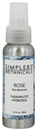 Simplers Botanicals - Therapeutic Hydrosol Spray Rose - 2.7 oz.