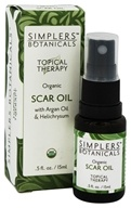 Topical Therapy Organic Scar Oil - 0.5 fl. oz. by Simplers Botanicals