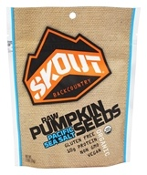 Skout Organic - Organic Trailpak Raw Pumpkin Seeds Pacific Sea Salt - 2.5 oz.
