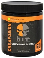HIT Supplements - Creafusion Creatine Blend Tropical Citrus - 12.7 oz.