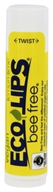Eco Lips - Bee Free Vegan Lip Balm Lemon-Lime - 0.15 oz.