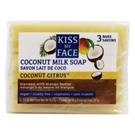Kiss My Face - Coconut Milk Bar Soap - 3 Pack - 10.5 oz.