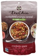 TeeChia - Sustained Energy Cereal Cranberry Apple - 10.6 oz.