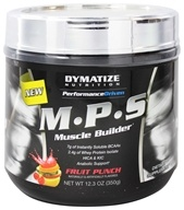 Dymatize Nutrition - Performance Driven M.P.S Muscle Builder Fruit Punch - 12.3 oz.