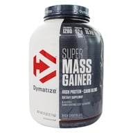 Dymatize Nutrition - Super Mass Gainer Rich Chocolate - 6 lbs.