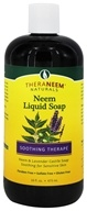 Organix South - TheraNEEM Liquid Soap Neem & Lavender - 16 oz.