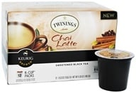 Twinings of London - Chai Latte Sweetened Black Tea - 12 K-Cup(s)