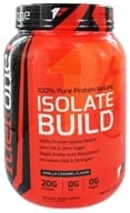 Fuel One - Isolate Build 100% Pure Protein Isolate Vanilla Caramel - 3 lbs.
