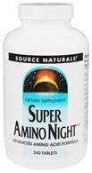 Source Naturals - Super Amino Night - 240 Tablets