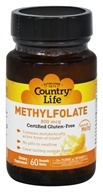 Country Life - Methylfolate Fast Acting Smooth Melt Orange 800 mcg. - 60 Tablet(s)