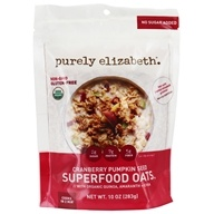 Purely Elizabeth - Organic Ancient Grain Oatmeal Cranberry Pumpkin Seed - 10 oz.