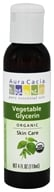 Aura Cacia - Organic Vegetable Glycerin Skin Care - 4 oz.